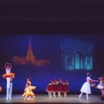 バレエ発表会の写真